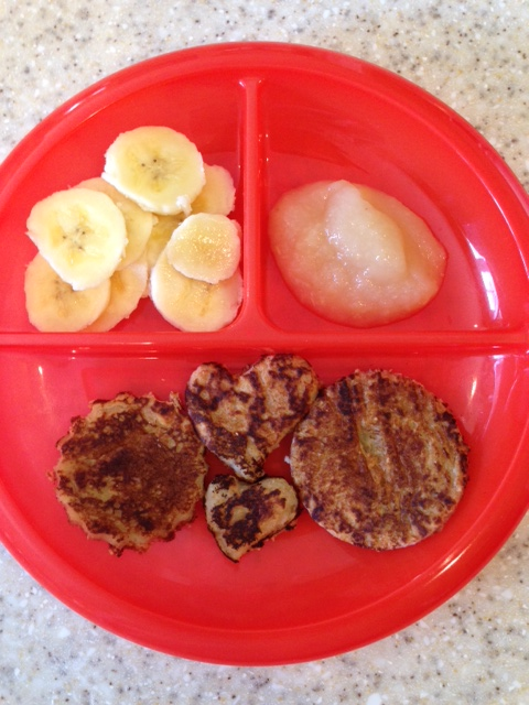 Applesauce Pancakes!