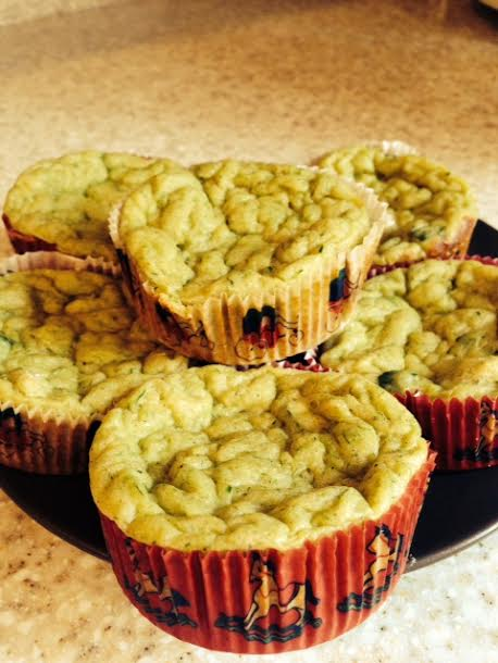 Zucchini Muffins for the little ones!